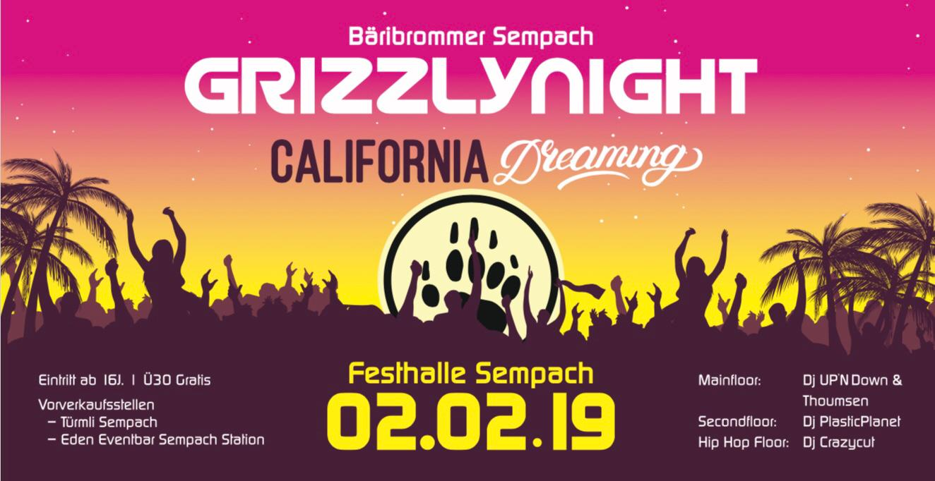 Grizzly Night: 2. Februar 2019